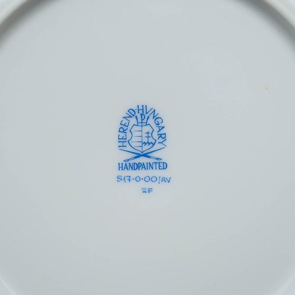 ヘレンド アポニーグリーン 19cmプレート|selectors|05