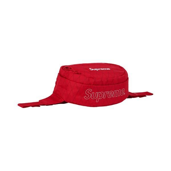 18AW Supreme Waist Bag Red ( シュプリーム ウエストバッグ レッド 赤 )