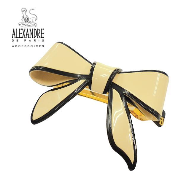 アレクサンドル ドゥ パリ ALEXANDRE DE PARIS バレッタ(大)AQCH 12690 03Xベージュ
