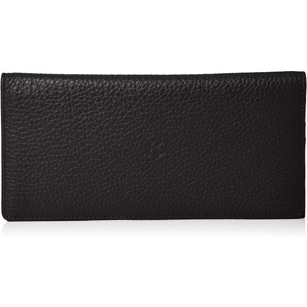 キタムラ 長財布(札入れ)キズが目立ちにくいシュリンクレザーZH0421ブラック 黒 15151