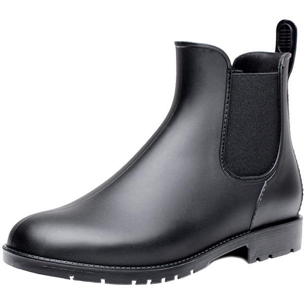 visionreast 22.0-26.5cm超軽量レインシューズレディースメンズレインブーツ雨靴サイドゴアショートブーツ晴雨