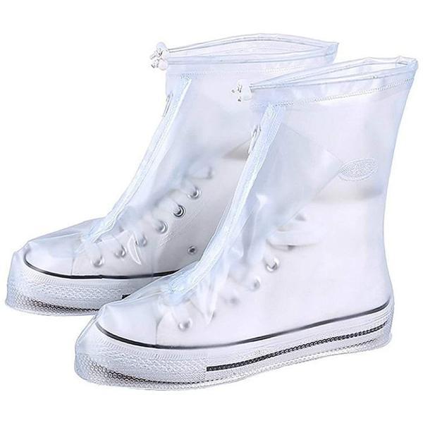 シューズカバー防水滑り止め軽量持ち運びが簡単レインシューズ靴カバー梅雨対策コンパクト雨具雨雪泥避け履きやすい男女兼用靴の