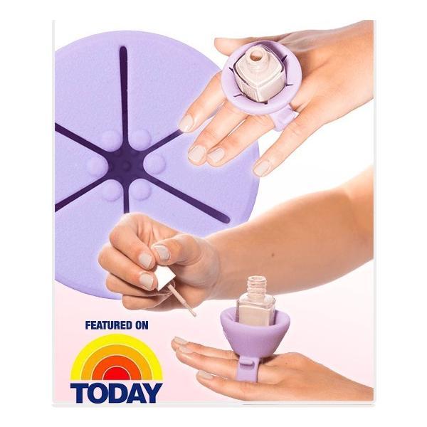 楽天ランキング1位を獲得 全米で大人気 tweexy ツイクシー ネイルボトルホルダー ウェアラブルリング 指輪型|selectshopcrea|02