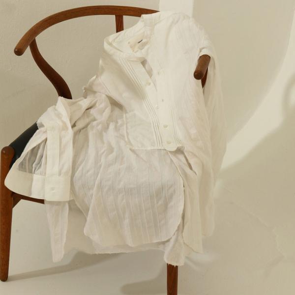 (5月上旬入荷予約)TODAYFUL 20夏.トゥデイフル Jacquard Dress Shirts ジャガードドレスシャツ 12010431 吉田怜香 レディース トップス ブラウス|selectshopmu|04