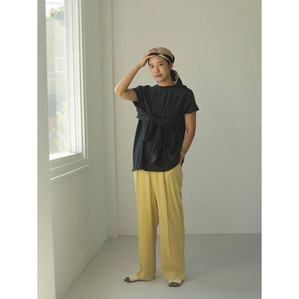 TODAYFUL 20春夏 トゥデイフル Sleeve Slit Long T-Shirts スリーブスリットロングTシャツ 12010614( 3月中旬入荷予約) (代金引換不可)|selectshopmu|06