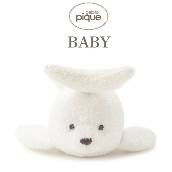 gelato pique Kids&Baby ジェラートピケ 通販 スムーズィーアザラシ baby ガラガラ pbgg192709|selectshopmu