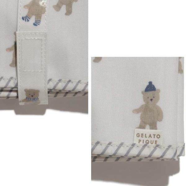 gelato pique ジェラートピケ 通販 【BABY】テディベアオムツシート pbgg195611 ピケ おむつシート 出産祝い selectshopmu 03