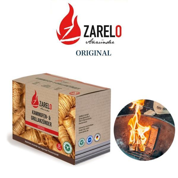 ZARELO ザレロ ORIGINAL オーガニック着火剤 焚き火 固形燃料 ブッシュクラフト キャンプ アウトドア 火おこし用 BBQ バーベキュー 暖炉 薪ストーブ