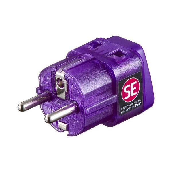サンワサプライ 海外電源変換アダプタエレプラグW-SE(ドイツ・フランス) TR-AD13|selectshopsig