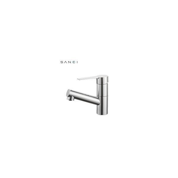 三栄水栓 SANEI シングルワンホール洗面混合栓 寒冷地 K475NJK-1-13