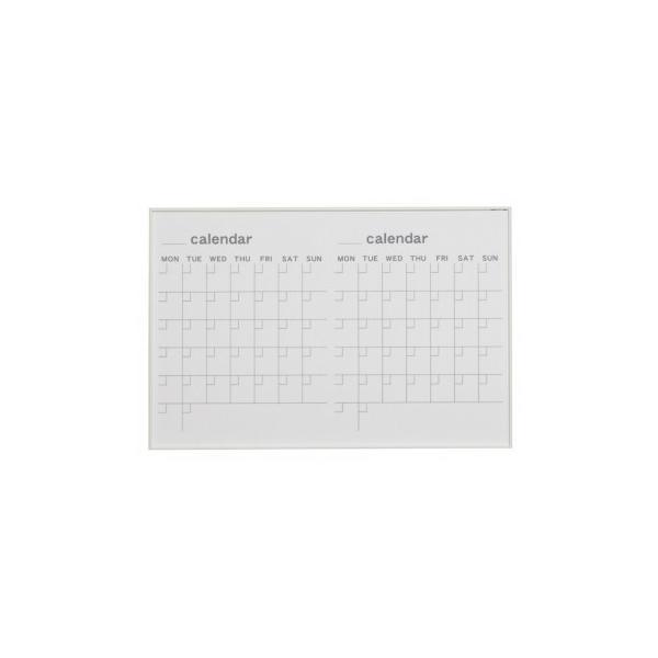 馬印 MR series(エムアールシリーズ)壁掛 予定表(カレンダー)ホワイトボード W910×H610mm MR23W