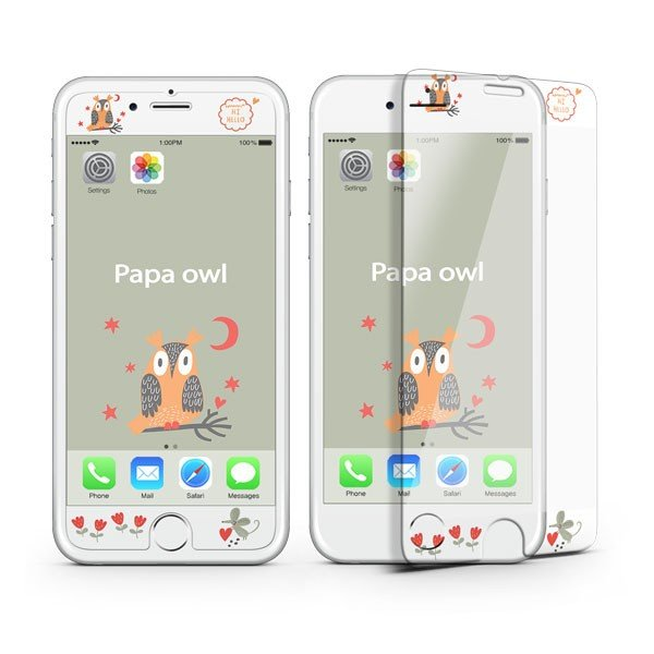 iPhone8 iPhone7 iPhone6s/6 iPhone7Plus iPhone6s Plus/6 Plus フィルム 待ち受け画面一体ポイントカラー3D保護ガラスフィルム 10H|selectshopsig|03