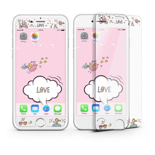 iPhone8 iPhone7 iPhone6s/6 iPhone7Plus iPhone6s Plus/6 Plus フィルム 待ち受け画面一体ポイントカラー3D保護ガラスフィルム 10H|selectshopsig|06