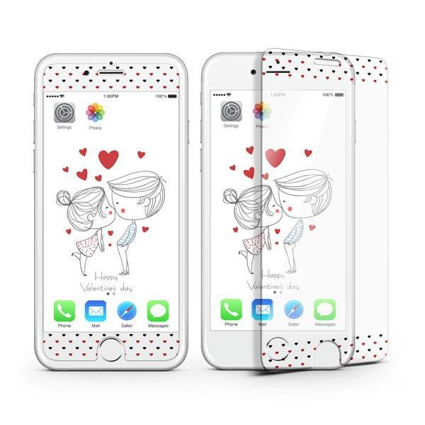 iPhone8 iPhone7 iPhone6s/6 iPhone7Plus iPhone6s Plus/6 Plus フィルム 待ち受け画面一体ポイントカラー3D保護ガラスフィルム 10H|selectshopsig|08