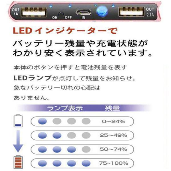 モバイルバッテリー 軽量 薄型 ソーラーモバイルバッテリー 大容量 10000mAh 防災グッズ ソーラー チャージャー スマホ 充電器 USB充電器 iPhone Android|selectshoptoitoitoi|11