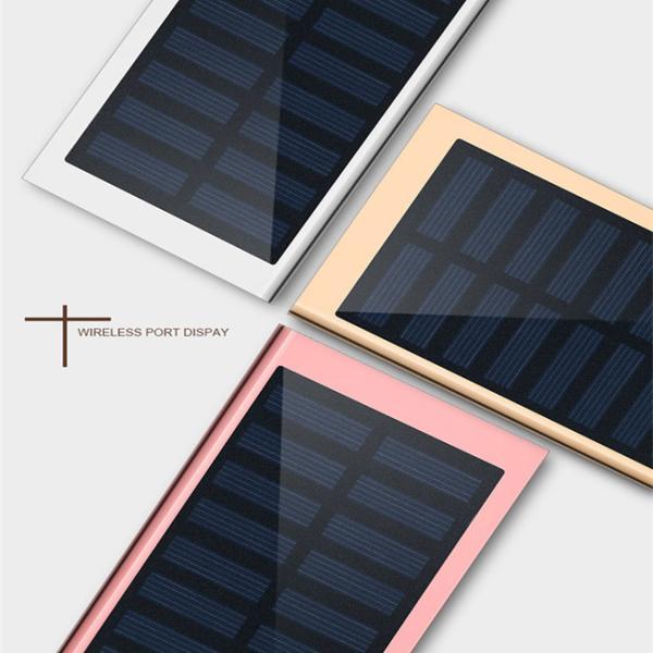 モバイルバッテリー 軽量 薄型 ソーラーモバイルバッテリー 大容量 10000mAh 防災グッズ ソーラー チャージャー スマホ 充電器 USB充電器 iPhone Android|selectshoptoitoitoi|04