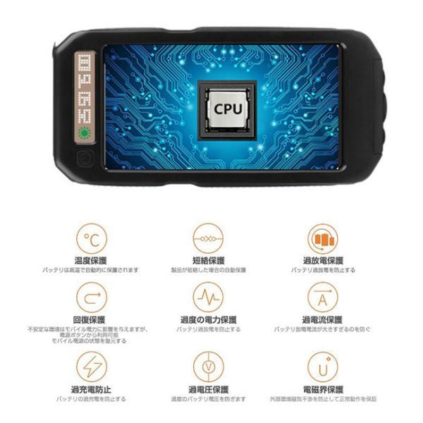 モバイルバッテリー ソーラーモバイルバッテリー 12000mAh 大容量 スマホ充電器 2台同時充電 急速充電 ソーラー 充電器 iPhone android|selectshoptoitoitoi|09