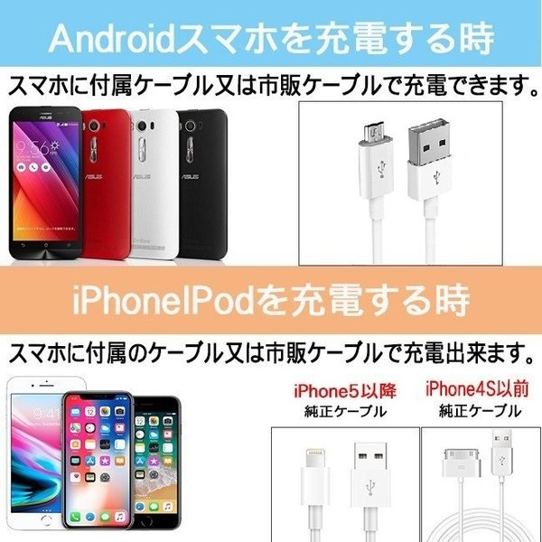モバイルバッテリー 24000mAh ソーラーモバイルバッテリー 大容量 防災グッズ iPhone 充電器 スマホ 太陽光充電 バッテリー モバイル チャージャー Android|selectshoptoitoitoi|14