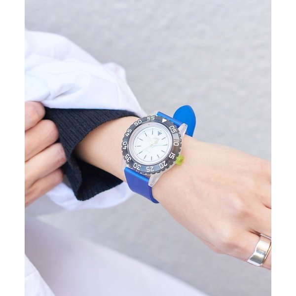 russet / ラシット LAUGH WATCH DIVER|selectsquare