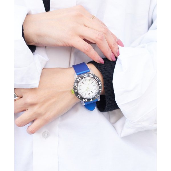 russet / ラシット LAUGH WATCH DIVER|selectsquare|02