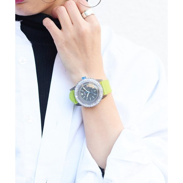 russet / ラシット LAUGH WATCH DIVER|selectsquare|05