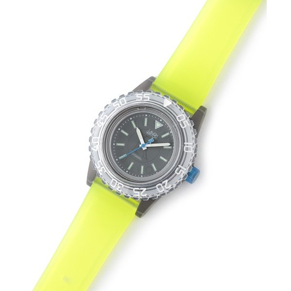 russet / ラシット LAUGH WATCH DIVER|selectsquare|06