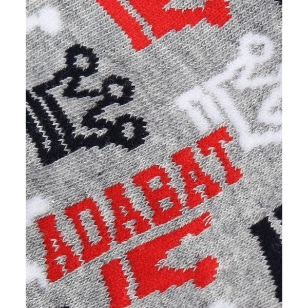adabat / アダバット クラウン柄ソックス selectsquare 06