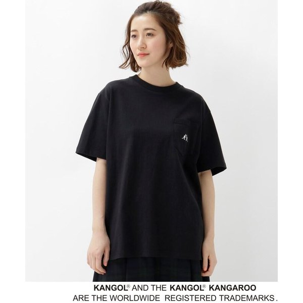 BASE STATION / ベースステーション 【WEB限定】  コラボ 別注  KANGOL ポケット Tシャツ selectsquare 02