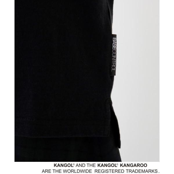 BASE STATION / ベースステーション 【WEB限定】  コラボ 別注  KANGOL ポケット Tシャツ selectsquare 03