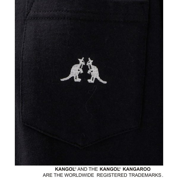 BASE STATION / ベースステーション 【WEB限定】  コラボ 別注  KANGOL ポケット Tシャツ selectsquare 04