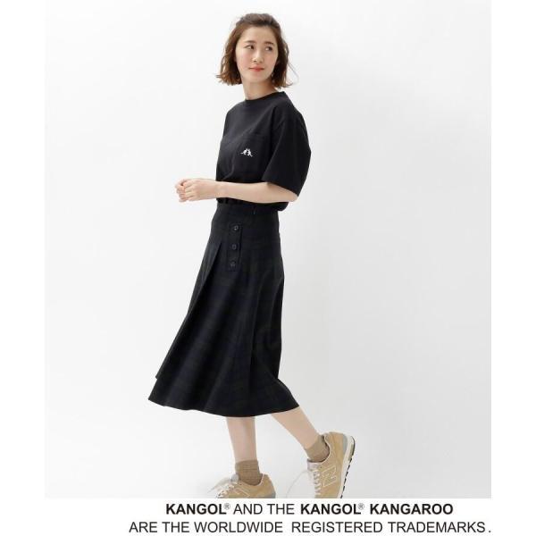BASE STATION / ベースステーション 【WEB限定】  コラボ 別注  KANGOL ポケット Tシャツ selectsquare 06