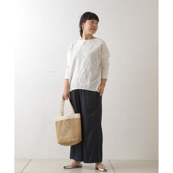 BEARDSLEY / ビアズリー フロント刺繍カットソー|selectsquare|03