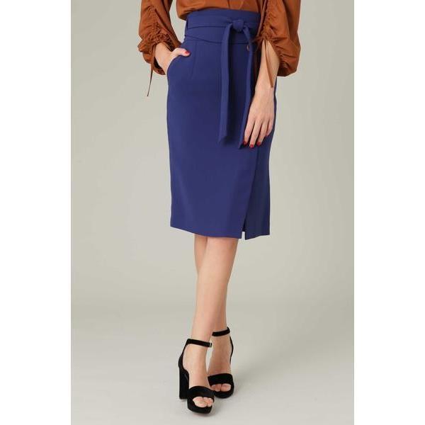 PINKY & DIANNE / ピンキーアンドダイアン ダブルクロスサッシュベルト付きスカート|selectsquare