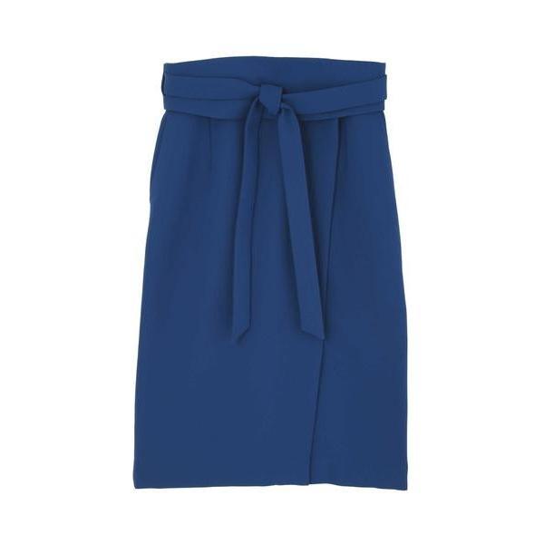 PINKY & DIANNE / ピンキーアンドダイアン ダブルクロスサッシュベルト付きスカート|selectsquare|02