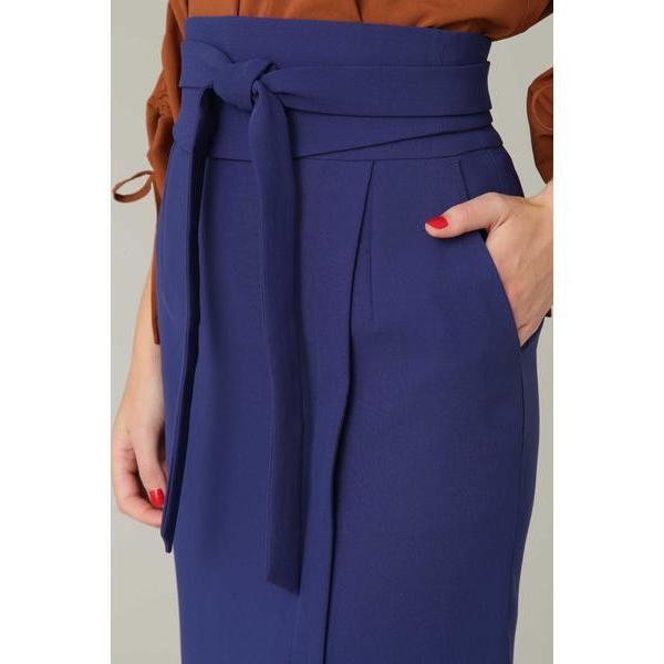 PINKY & DIANNE / ピンキーアンドダイアン ダブルクロスサッシュベルト付きスカート|selectsquare|06