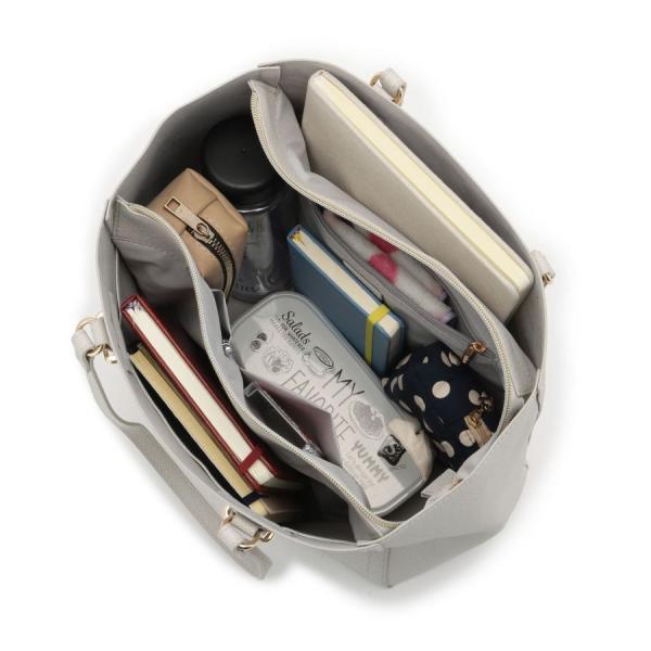 OPAQUE.CLIP / オペーク ドット クリップ 【軽量】index シンプル合皮トートバッグ