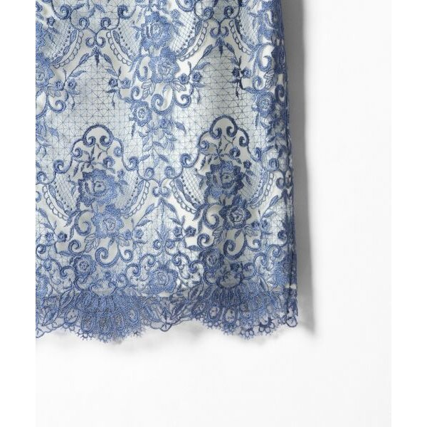 GRACE CONTINENTAL / グレースコンチネンタル チュールレース刺繍タイトワンピース|selectsquare|03