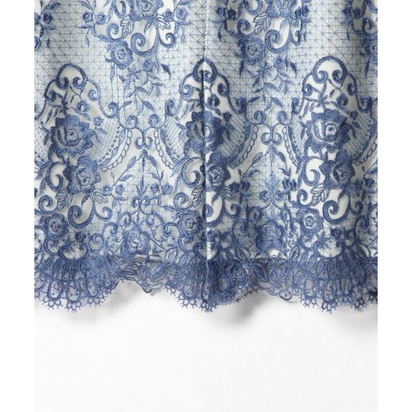 GRACE CONTINENTAL / グレースコンチネンタル チュールレース刺繍タイトワンピース|selectsquare|05