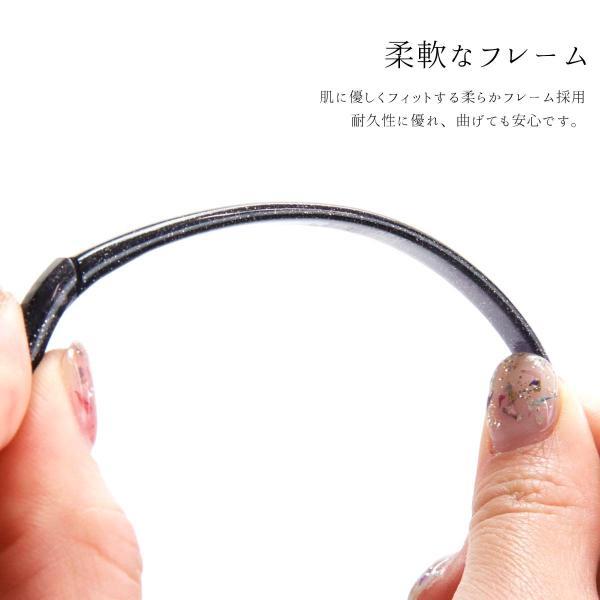 Hazuki ハズキルーペ ラージ クリアレンズ 拡大率 1.85倍 1.6倍 1.32倍 ラッピング対応可 選べる8色 メガネストラップ オリジナルショッパー付き  selene 02