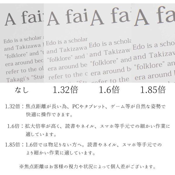 Hazuki ハズキルーペ ラージ クリアレンズ 拡大率 1.85倍 1.6倍 1.32倍 ラッピング対応可 選べる8色 メガネストラップ オリジナルショッパー付き  selene 03