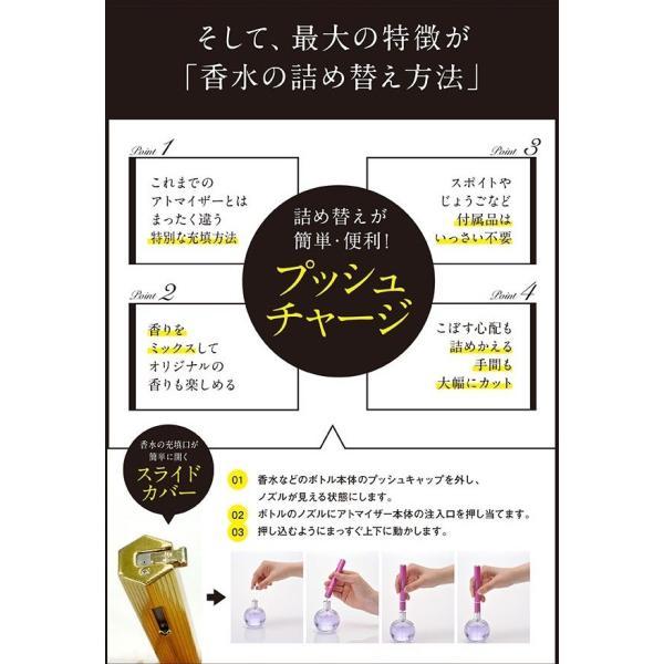 ジャックマルクス JACMARCS 香水アトマイザー リフィラブル パフューム アトマイザー ヘキサゴナルシェイプ 3.7ml ゴールド JAM1045|selene|03