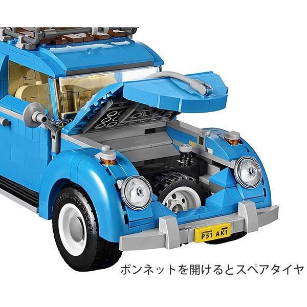 LEGO レゴ クリエイター エキスパート フォルクスワーゲンビートル # 10252 LEGO 1167ピース|selene|04