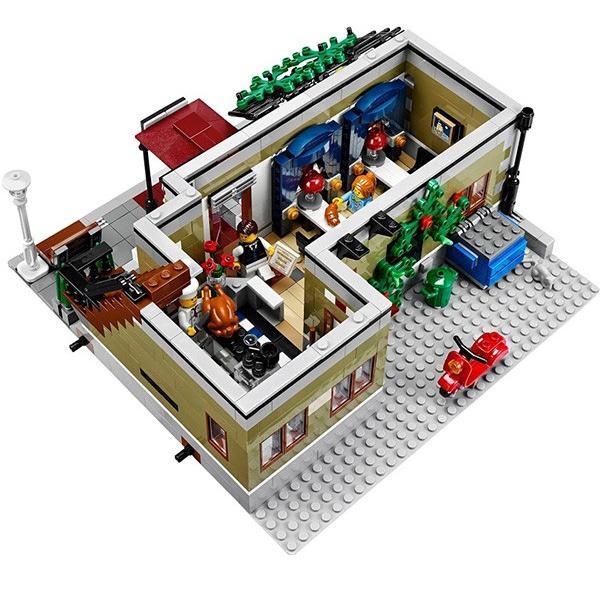 LEGO レゴ クリエイター パリのレストラン # 10243 LEGO CREATOR Parisian Restaurant 2469ピース selene 05