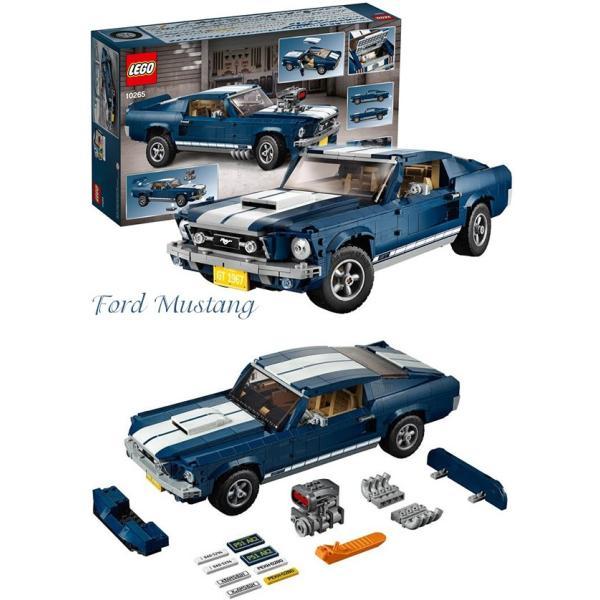 LEGO レゴ クリエイター エキスパート フォード・マスタング GT ファストバック 10265 Creator Expert Ford Mustang GT Fastback 1471ピース|selene|02