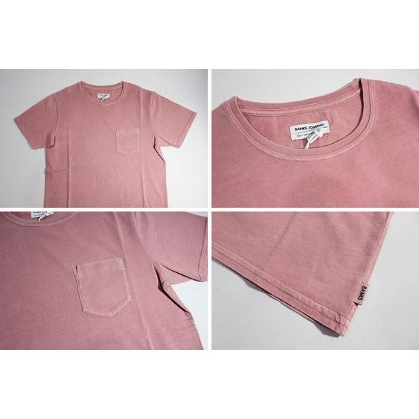 BANKS,バンクス/18SU/ S/S POCKET Tシャツ・半袖ポケットTシャツ/STAPLE TEE SHIRT・ATS0251/ASH ROSE・ローズ/S・M・Lサイズ|selfishsurf|03