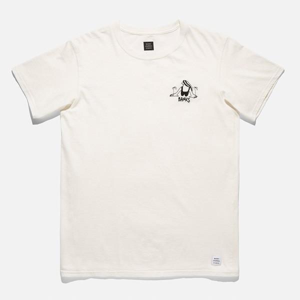 BANKS,バンクス/18SU/ S/S Tシャツ・半袖Tシャツ/TY WILLIAMS PLAY TEE-SHIRT・ATS0264/OFF WHITE・オフホワイト/S・M・Lサイズ/メンズ|selfishsurf|02