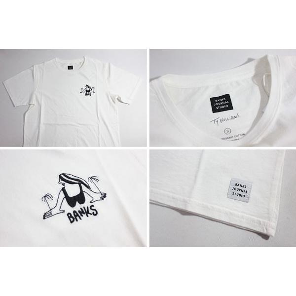 BANKS,バンクス/18SU/ S/S Tシャツ・半袖Tシャツ/TY WILLIAMS PLAY TEE-SHIRT・ATS0264/OFF WHITE・オフホワイト/S・M・Lサイズ/メンズ|selfishsurf|03
