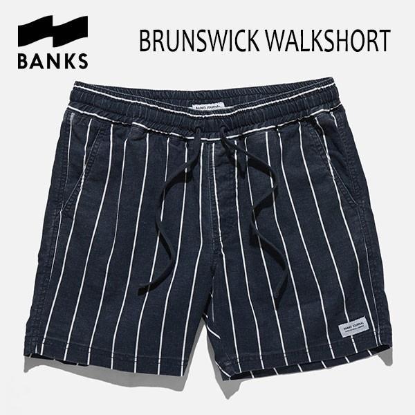 BANKS,バンクス/18SU/ウォークショーツ・ボトムス/BRUNSWICK WALKSHORTS・WS0079/DIRTY DENIM・ブルー/28・30インチ selfishsurf
