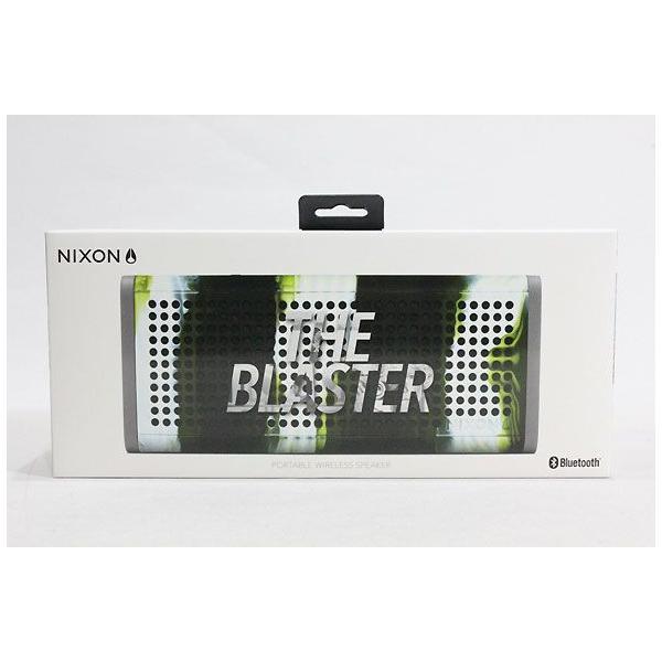 NIXON,ニクソン/ポータブルワイヤレススピーカー/THE BLASTER/NH0281727-00/MARBLED CAMO,マーブルカモ|selfishsurf|04