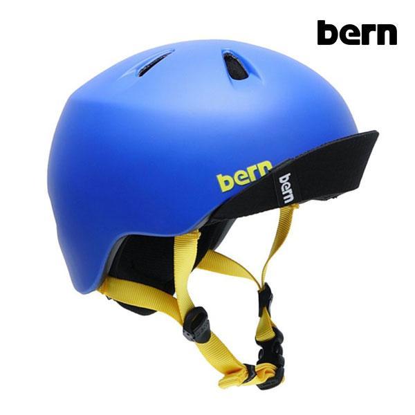 【ポイント10倍】BERN,バーン/ヘルメット/KIDS・キッズ(子供用)/オールシーズン対応/NINO/MATTE BLUE VISOR・マットブルー/XS/S・S/Mサイズサイズ|selfishsurf